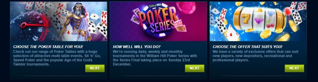 William Hill's Promos