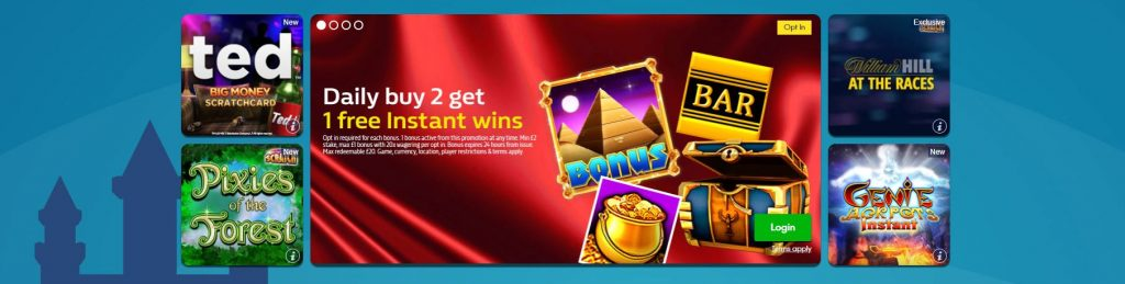 William Hill Games Offer
