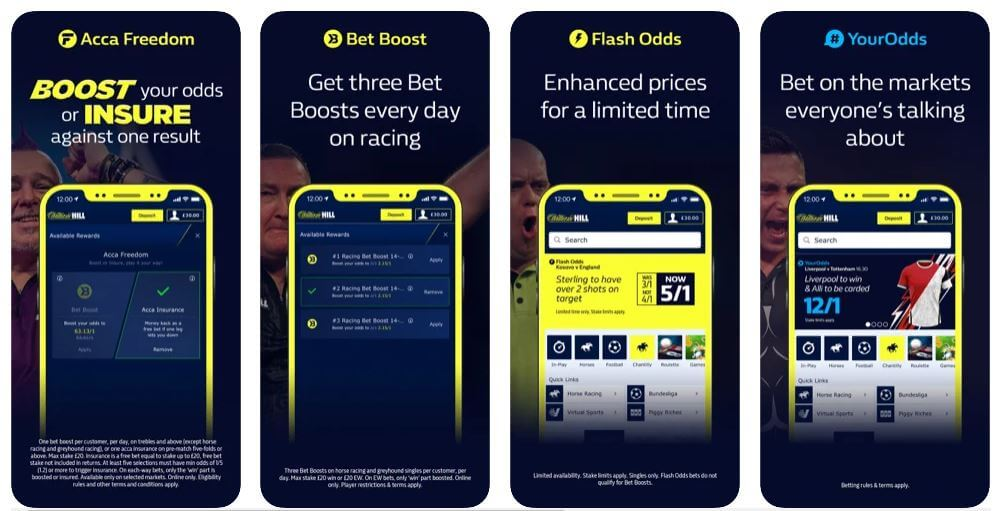 How to use the William Hill Mobile App